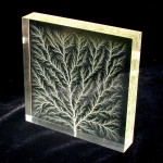 """Lichtenberg figure in block of Plexiglas"" by Bert Hickman - en:Image:Square1.jpg. Licensed under Attribution via Wikimedia Commons - http://commons.wikimedia.org/wiki/File:Lichtenberg_figure_in_block_of_Plexiglas.jpg#mediaviewer/File:Lichtenberg_figure_in_block_of_Plexiglas.jpg"