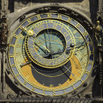 """Czech-2013-Prague-Astronomical clock face"" by Godot13 - Own work. Licensed under CC BY-SA 3.0 via Wikimedia Commons - http://commons.wikimedia.org/wiki/File:Czech-2013-Prague-Astronomical_clock_face.jpg#mediaviewer/File:Czech-2013-Prague-Astronomical_clock_face.jpg"